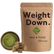 HIGHCLEARハイクリアーウェイトダウンプロテインプレミアム1kg(約40回分)黒糖抹茶風味HI2D006