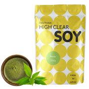 HIGHCLEARハイクリアーソイプロテイン100ステビア750g(約30回分)抹茶味HICSOY007S