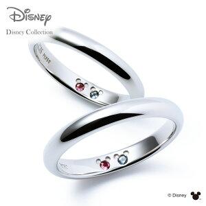 【刻印無料_14文字】【ディズニーコレクション】 ディズニー / プラチナ マリッジ リング 結婚指輪 / 隠れミッキーマウス / ペアリング THE KISS ザキッス リング・指輪 誕生石 DI-7061104502-P セッ