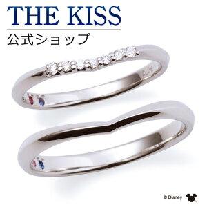 【刻印可_14文字】【ディズニーコレクション】 ディズニー / プラチナ マリッジ リング 結婚指輪 / 隠れミッキーマウス / ペアリング THE KISS ザキッス リング・指輪 誕生石 DI-7061104512-7061104522
