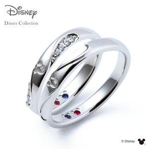 【刻印可_14文字】【ディズニーコレクション】 ディズニー / プラチナ マリッジ リング 結婚指輪 / 隠れミッキーマウス / ペアリング THE KISS ザキッス リング・指輪 誕生石 DI-7061104532-7061104542