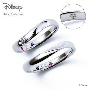 【刻印無料_14文字】【ディズニーコレクション】 ディズニー / プラチナ マリッジ リング 結婚指輪 / ディズニープリンセス ベル / ペアリング THE KISS ザキッス リング・指輪 誕生石 DI-7061104572