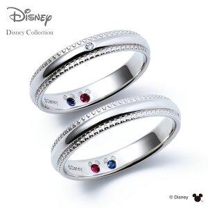 【刻印可_14文字】【ディズニーコレクション】 ディズニー / プラチナ マリッジ リング 結婚指輪 / 隠れミッキーマウス / ペアリング THE KISS ザキッス リング・指輪 誕生石 DI-7061108012-7061108022