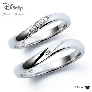 【刻印無料_14文字】【ディズニーコレクション】 ディズニー / プラチナ マリッジ リング 結婚指輪 / 隠れミッキーマウス / ペアリング THE KISS ザキッス リング・指輪 DI-7061117011-7061117021 セッ