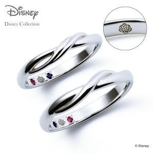 【刻印無料_14文字】【ディズニーコレクション】 ディズニー / プラチナ マリッジ リング 結婚指輪 / ディズニープリンセス アリエル / ペアリング THE KISS ザキッス リング・指輪 誕生石 DI-7061