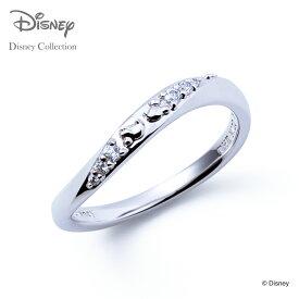 【ディズニーコレクション】 ディズニー / ペアリング / ミッキーマウス & ミニーマウス / THE KISS リング・指輪 シルバー (レディース 単品) DI-SR1831CB ザキス 【送料無料】 【土日祝日もあす楽対応】