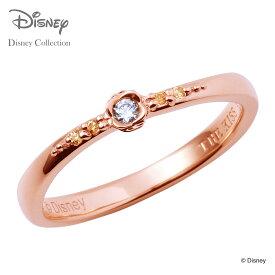 【あす楽対応】【ディズニーコレクション】 ディズニー / ペアリング / ディズニープリンセス ベル / THE KISS リング・指輪 シルバー ダイヤモンド (レディース 単品) DI-SR2410CB ザキス 【送料無料】【Disneyzone】