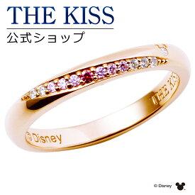 【土日もあす楽対応】【2019年クリスマス限定】【ディズニーコレクション】 ディズニー / ペアリング / 隠れミッキーマウス / THE KISS リング・指輪 シルバー (レディース 単品) DI-SR500DM ザキス 【送料無料】