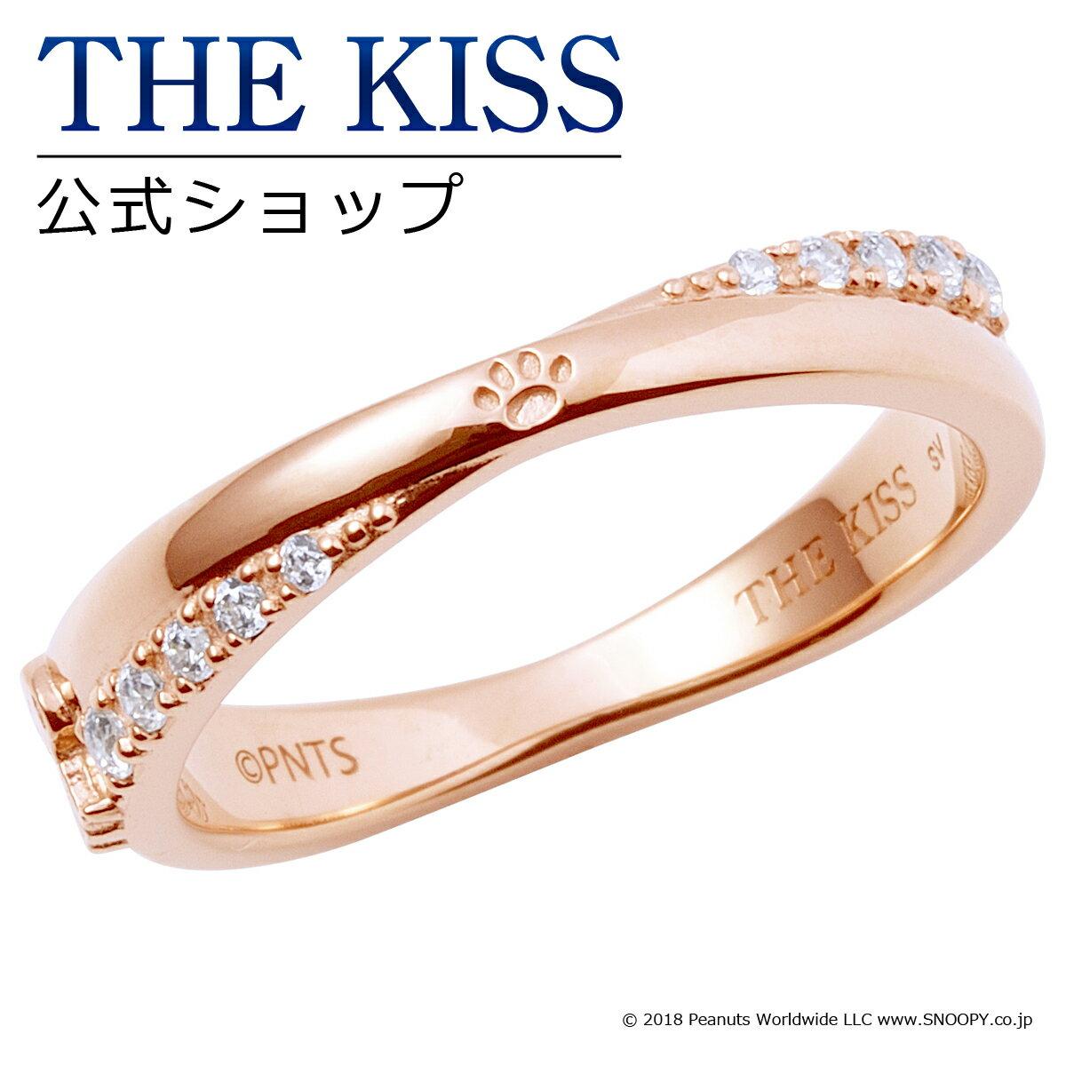 【あす楽対応】【PEANUTS×THE KISSコラボ】PEANUTS スヌーピー / THE KISS 公式サイト シルバー ペアリング ( レディース 単品 ) ペアアクセサリー カップル に 人気 の ジュエリーブランド THEKISS ペア リング・指輪 記念日 プレゼントPN-SR500CB ザキス 【送料無料】
