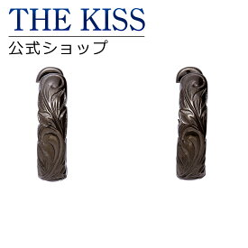 【あす楽対応】THE KISS 公式サイト ステンレス ハワイアン ペアピアス (メンズ 単品) ペアアクセサリー カップル に 人気 の ジュエリーブランド THEKISS ペア ピアス 記念日 プレゼント L-PE8017 ザキス 【送料無料】