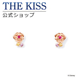 【あす楽対応】【ディズニーコレクション】 ディズニー / ピアス / ディズニープリンセス ベル / THE KISS ピアス K10 ピンクゴールド ダイヤモンド (レディース) DI-PPE1802YSP ザキス 【送料無料】【Disneyzone】