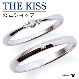 【ディズニーコレクション】 ディズニー / ペアリング / 隠れミッキーマウス / 結婚指輪 マリッジリング / THE KISS sweets リング・指輪 K10ホワイトゴールド ダイヤモンド DI-WR1810DM-WR1811DM セット シンプル ザキス 【送料無料】 【土日祝日もあす楽対応】