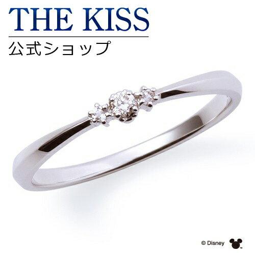 【あす楽対応】【ディズニーコレクション】 ディズニー / ペアリング / 隠れミッキーマウス / THE KISS sweets リング・指輪 K10ホワイトゴールド ダイヤモンド (レディース 単品) DI-WR1810DM ザキス 【送料無料】【Disneyzone】