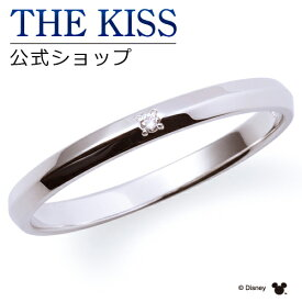 【ディズニーコレクション】 ディズニー / ペアリング / 隠れミッキーマウス / THE KISS sweets リング・指輪 K10ホワイトゴールド ダイヤモンド (メンズ 単品) DI-WR1811DM ザキス 【送料無料】 【土日祝日もあす楽対応】