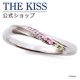 【あす楽対応】【ディズニーコレクション】 ディズニー / ペアリング / ディズニープリンセス アリエル / THE KISS sweets リング・指輪 K10ホワイトゴールド (レディース 単品) DI-WR1825PSP ザキス 【送料無料】【Disneyzone】