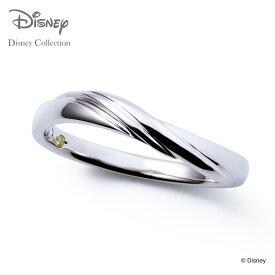 【あす楽対応】【ディズニーコレクション】 ディズニー / ペアリング / ディズニープリンセス アリエル / THE KISS sweets リング・指輪 K10ホワイトゴールド (メンズ 単品) DI-WR1826PD ザキス 【送料無料】【Disneyzone】