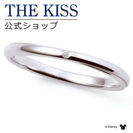 【あす楽対応】【ディズニーコレクション】 ディズニー / ペアリング / 隠れミッキーマウス / THE KISS sweets リング・指輪 K10ホワイトゴールド ダイヤモンド (メンズ 単品) DI-WR2705DM ザキス 【送料無料】