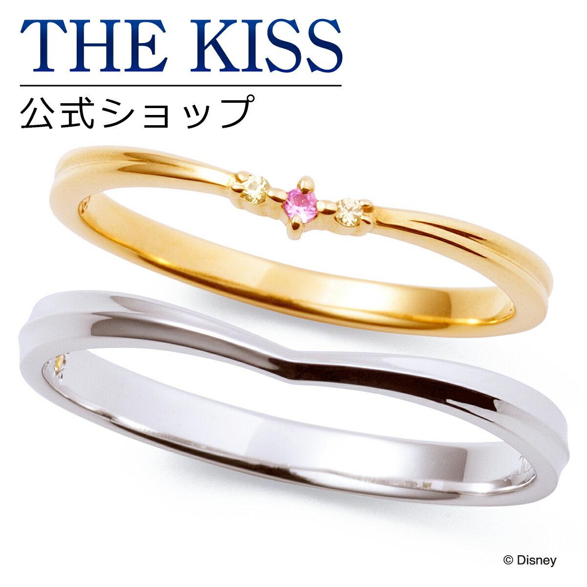 【あす楽対応】【ディズニーコレクション】 ディズニー / ペアリング / ディズニープリンセス ベル / THE KISS sweets リング・指輪 K10イエローゴールド K10ホワイトゴールド DI-YR2700PSP-2701YSP ザキス 【送料無料】【Disneyzone】