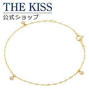 【あす楽対応】【送料無料】【THE KISS sweets】 K10イエローゴールド レディース ブレスレット 18cm ☆ オパール ゴールド レディース ブレスレット ブランド GOLD Ladies Bracelet