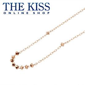 【あす楽対応】【送料無料】【THE KISS sweets】 K10ピンクゴールド レディース ネックレス 40cm ☆ ゴールド レディース ネックレス 首飾り ブランド GOLD Ladies Necklace