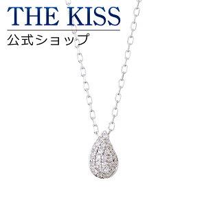 【送料無料】【THE KISS sweets】 K10ホワイトゴールド ダイヤモンド レディース ネックレス 40cm ☆ ダイヤモンド ゴールド レディース ネックレス 首飾り ブランド Ladies Necklace PAVE-01WG 【土日祝日