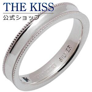 【あす楽対応】 THE KISS 公式サイト シルバー ペアリング ( レディース・メンズ 単品 ) ペアアクセサリー カップル に 人気 の ジュエリーブランド THEKISS ペア リング・指輪 SR1620BDM ザキス