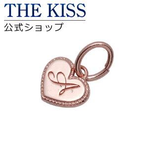 THE KISS 公式ショップ シルバー チャーム イニシャル ペア (レディース 単品) ペアアクセサリー カップル に 人気 の ジュエリーブランド THEKISS ペア ネックレス・ペンダント 記念日 プレゼ