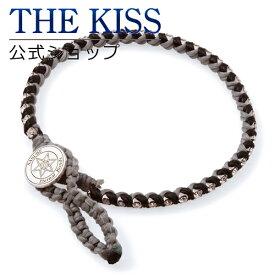 【送料無料】【ペアブレスレット】【NARUTO-ナルト- 疾風伝×THE KISS】サスケ ブレスレット アクセサリー ☆ THE KISS シルバ- ペア ブレスレット 腕輪 ブランド SILVER Pair Bracelet couple 【あす楽対応】