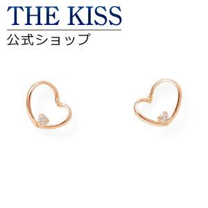 THE KISS 公式ショップ K10 ピンクゴールド ピアス ダイヤモンド ピアス レディースジュエリー・アクセサリー ジュエリーブランド THEKISS レディースピアス 記念日 プレゼント SA-96DM ザキス 【送