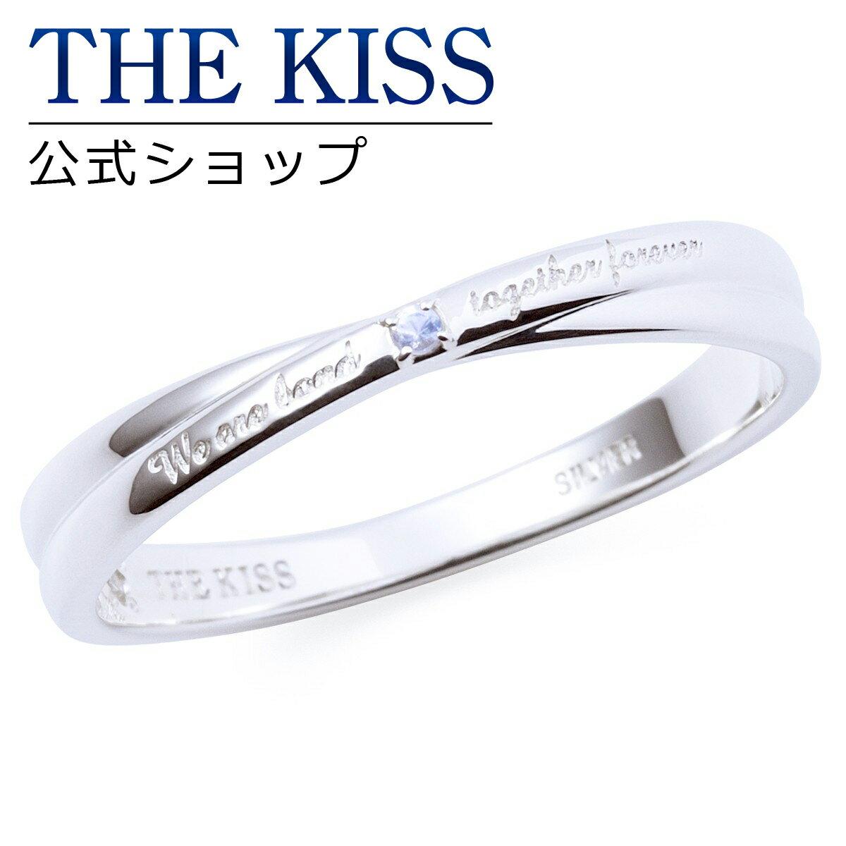 【あす楽対応】【2017年クリスマス限定】THE KISS 公式サイト シルバー ペアリング ( メンズ 単品 ) ペアアクセサリー カップル に 人気 の ジュエリーブランド THEKISS ペア リング・指輪 記念日 プレゼント 2017-02RM-RBM ザキス 【送料無料】