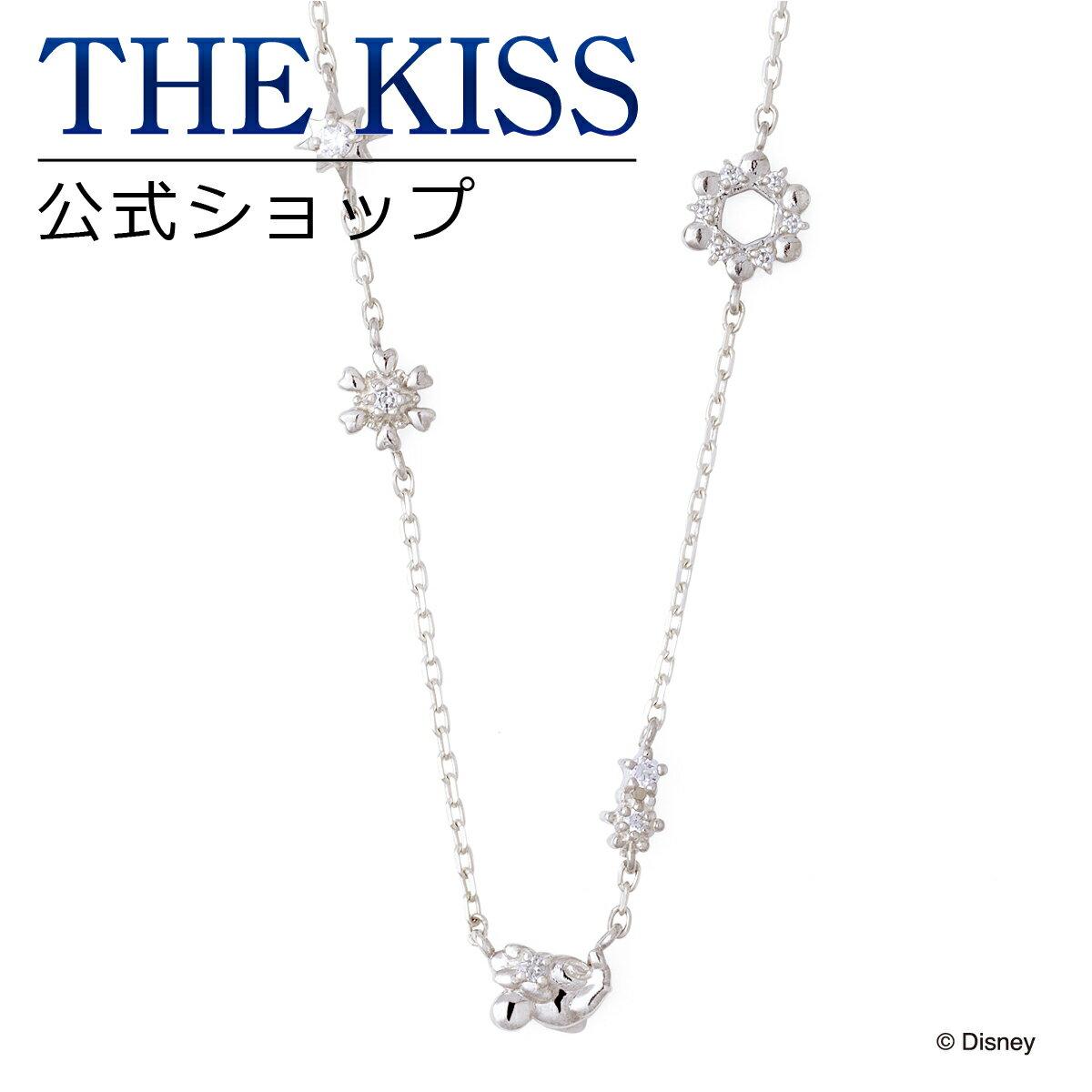 【あす楽対応】【ディズニーコレクション】 ディズニー / ネックレス / ミニーマウス / THE KISS ネックレス・ペンダント シルバー ダイヤモンド (レディース) DI-SN2920DM ザキス 【送料無料】【Disneyzone】
