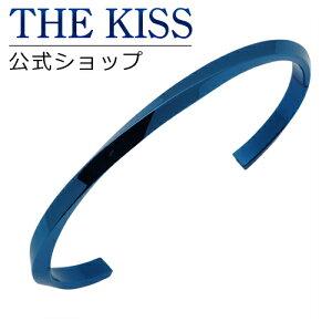 THE KISS 公式ショップ ステンレス ペアバングル (メンズ 単品) キュービック サージカルステンレス 316L ペアアクセサリー ジュエリーブランド THEKISS ペア バングル TBR3045CB-M ザキス 【送料無