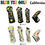 ブルーティーゴルフカリフォルニアピンボールスマイルUSA5点ヘッドカバーセットBlueteegolfDR用×1FW用×2UT用×1PT用×1