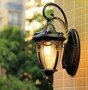 ブラケットライト 壁掛けライト 外灯 玄関照明レトロ 庭園灯 照明 照明器具 ウォールライト 防水 壁掛け ポーチライト…