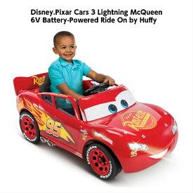 ディズニーピクサー カーズ バッテリーカー Disny Pixar Cars Lightning McQueen 6V Battery キッズ プレゼント 電動ミニカー ミニカー 電動乗用