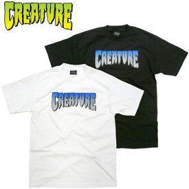 クリーチャー CREATURE 新作 CREATURE GREEN Tシャツ ハードコア カルト スケボーショップ ホラー