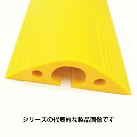 ユーボン NP810Y-UB 幅80x全長1m 黄色 軟質プロテクタ (25x16mm)NPシリーズ