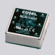 在庫品 コーセル(cosel) MGW151215 絶縁型DC/DCコンバータ 最大出力電力15W DC出力±15Vまたは+30V 0.5A 入力電圧DC9〜18V オンボードタイプ超小型・高効率