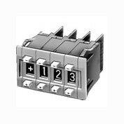 在庫品 IDEC DFBN-036-B DFシリーズマルチ・デジタリスイッチ 2ボタン式 バイナリユニット 16進 ソルダ用端子形