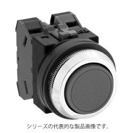 IDEC ABN110R(赤) φ30 TWNシリーズ 押ボタンスイッチ 平形 モメンタリ形 接点構成1a