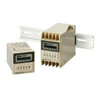 在庫品 オムロン H3CA-A ソリッドステート・タイマ 表面取付/ 埋込み取付(共用) フリー電源 48×48mm 8動作モードマルチ 11Pソケット接続 0.1s〜9990h 接点出力リレー1c(限時)