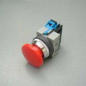 在庫品 IDEC φ25大形押しボタンスイッチ ABS301NR