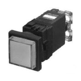 富士電機 DR22F3M-H3R φ22(φ25) 角フレーム 表示灯 平形 トランスユニット式LED AC110V 赤
