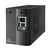 在庫品 BU75SW オムロンUPS(OMRON) 無停電電源装置(常時インバータ給電)電圧変動の激しい場所にも対応 750VA/500W:縦置