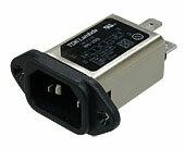 在庫品 TDK-Lambda RPE-2003F01L ノイズフィルタ インレットソケットタイプ Fuse付き 低漏洩電流特性タイプ 単相 250V  3A