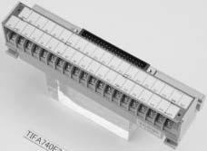 在庫品 パトライト(旧春日電機) TIFA740 F 360S インターフェース端子台 スリムタイプ 富士通製コネクタ40極