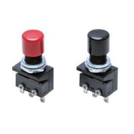 オムロン A2A-4R 超小形押ボタンスイッチ(丸胴形φ10.5) 操作部丸形 赤 モーメンタリ 接点構成1c はんだづけ端