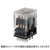 在庫品 オムロン MY4ZN-CBG AC100/110 ミニパワーリレー MYリレー 4極クロスバツイン接点 動作表示灯付き 14ピン プラグイン端子