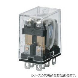 在庫品 オムロン LY2N AC100/110 バイパワーリレー 基準形 2極 表示灯付 プラグイン端子