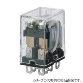 オムロン LY2 AC100/110 バイパワーリレー 基準形 2極 プラグイン端子